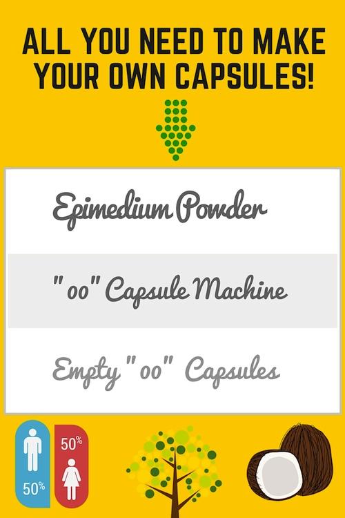 epimedium powder capsules