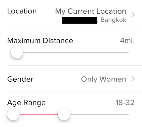 tinder matches bangkok
