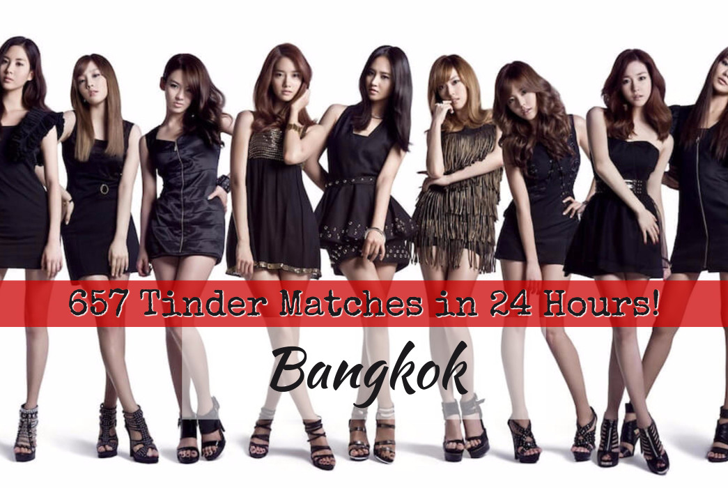 HOLY MOLY! 657 Tinder Matches, 24 Hours in Bangkok