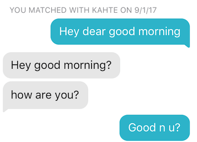 How to Start a Conversation with a Girl on Tinder 2