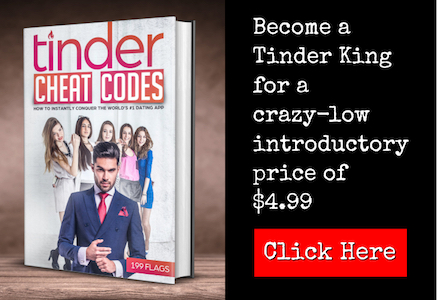 Tinder cheat codes ad banner