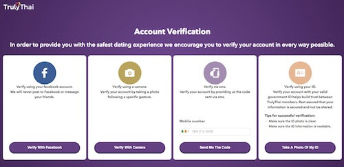 Truly Thai Account Verification